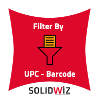 Filter products by UPC
