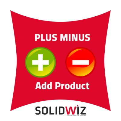 Plus Minus Button module