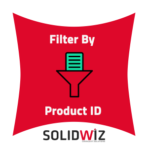 Filter products by product ID